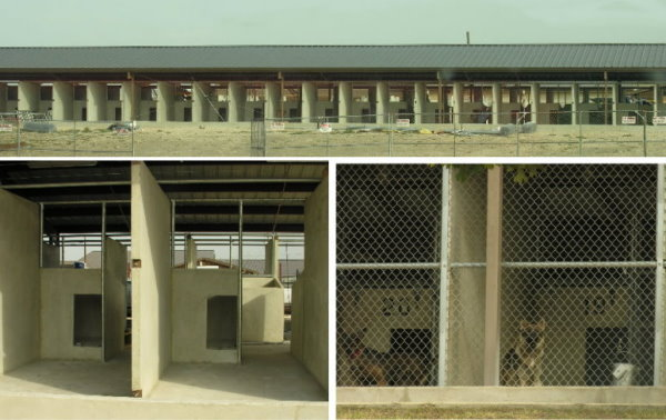 Precast Warehouse manufacturers concrete canine shelter for military working dog school and animal rescue facilities
